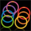 Glow necklaces, jewelry and favors