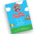 Personalized kids birthday party invitations, decorations and party supplies