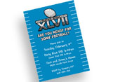 Super Bowl XLVII invitations
