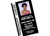 backstage pass invitations