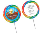 Personalized Oktoberfest lollipops