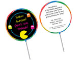 Decades and music theme lollipops