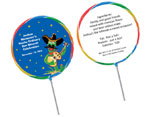 Fiesta theme lollipops