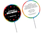 Hollywood and Broadway theme lollipops