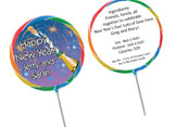 New Years Eve theme lollipops