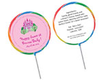 Sweet 16 Lollipop party favors