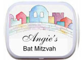Bar and Bat Mitzvah Mint and Candy Tins