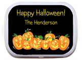 Halloween mint and candy tin party favor