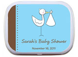 Baby Shower Mint and Candy Tin Party Favors