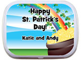 St. Patrick's Day Mint and Candy Tins