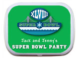 Super Bowl Mint and Candy Tins