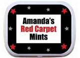 Hollywood theme mint and candy tin party favors
