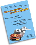NASCAR and racing theme personalized party supplies