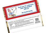 patriotic themed candy bar wrappers