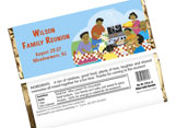 Family reunion candy bars