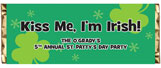 Personalized St. Patrick's Day Candy Bar Wrappers