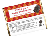 thanksgiving themed candy wrappers