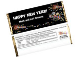 Personalized New Years Candy Bar Wrappers