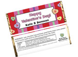 Personalized Valentine's Day Candy Bars