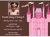 princess theme invitations