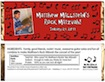 personalized rock and roll theme candy bar wrapper