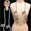 checkered flag beads