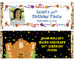 personalized fiesta theme candy bar wrapper
