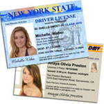 Driver's License Sweet 16 photo invitations