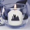 skyline votive holder