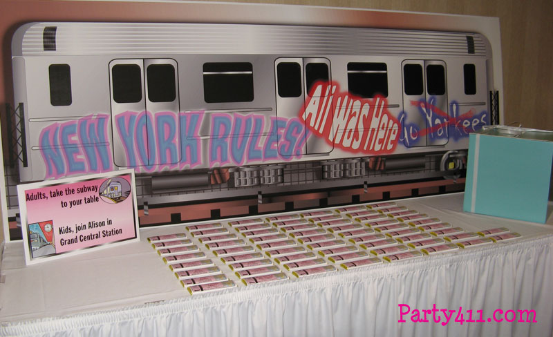 Party411 - Sweet 16 New York Party Ideas and Broadway Theme