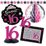 sweet 16 party decorations