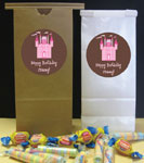 personalized sweet 16 favor bags