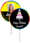 Sweet 16 personalized lollipops, add your face