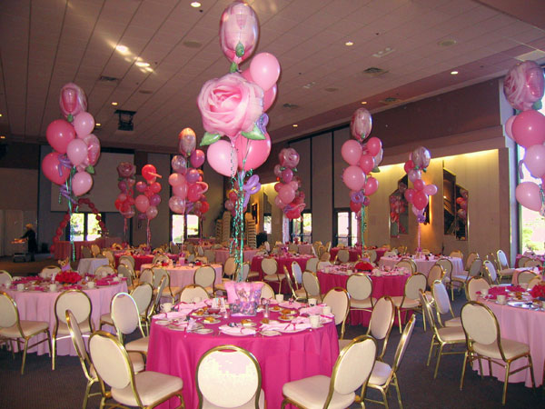 Party411 fantasy sweet 16 princess birthday party ideas for Balloon decoration ideas for sweet 16