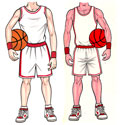 Basketball party cutouts