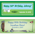 Golf party theme banners
