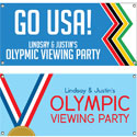 Olympics theme banners