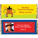 Luau theme candy bar wrappers