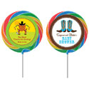 Western theme lollipops