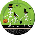 Dancing Skeleton Halloween Paper Goods