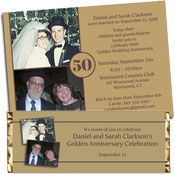 shop for 50th anniversary party invitations and favors