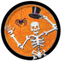 Skeleton Dancer Halloween Paper Goods