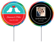 Anniversary lollipops