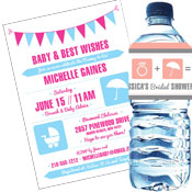 Baby Shower Icon Choice Invitations