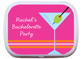 Bachelorette Party Mint and Candy Tins
