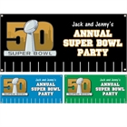 Super Bowl party banners
