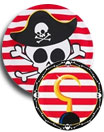 Little Buccaneer Pirates Paper Goods and Party Supplies