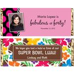 Personalized candy bars and wrappers