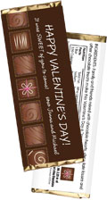 personalized chocolate theme candy bar wrapper
