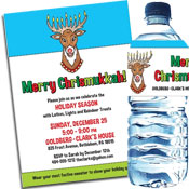 Chrismakkuh invitations, party favors and decorations